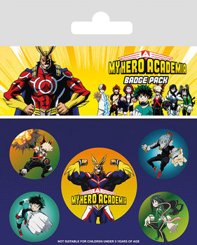 My Hero Academia - Characters Badge Pack