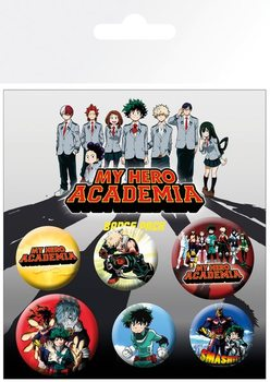 My Hero Academia - Mix Badge Pack