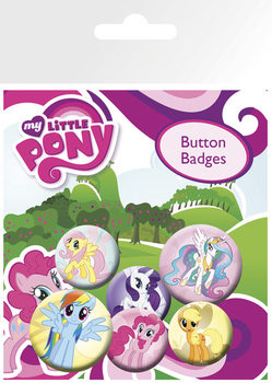 MY LITTLE PONY - characters Badges