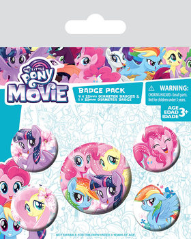 My Little Pony Movie - Friendship Blooms Badge Pack