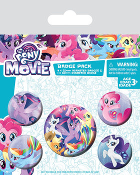 My Little Pony Movie - Sea Ponies Badge Pack