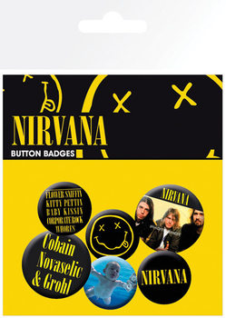Nirvana - Smiley Badge Pack