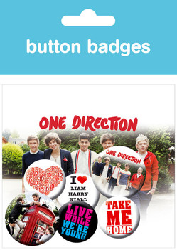 ONE DIRECTION – album Badge Pack