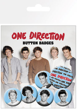 Badges One Direction (B&W)