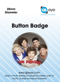 ONE DIRECTION - group Badge