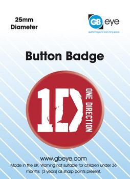 ONE DIRECTION - logo Badge