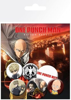 One Punch Man - Mix Badge Pack