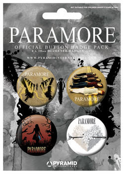PARAMORE - bury the castle Badge Pack