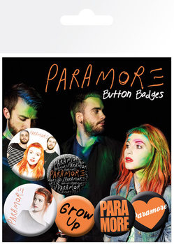 PARAMORE - logos Badge Pack