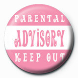 Parental Advisory (Pink) Badges