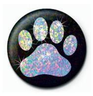 PAW PRINT Badge