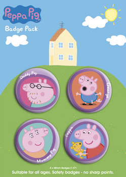 Badges PEPPA PIG