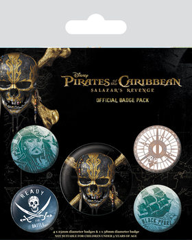 Pirates of the Caribbean - Skull Badge Pack