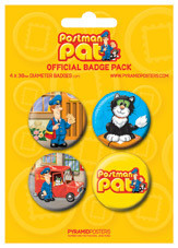 POSTMAN PAT Badge Pack