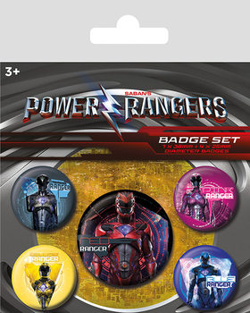 Power Rangers - Rangers Badge Pack