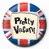 PRETTY VACANT Badge