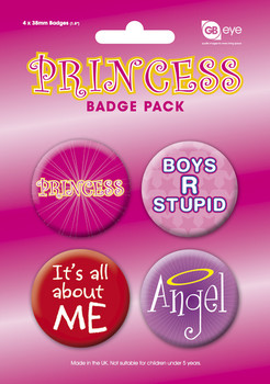 PRINCESS Badge Pack