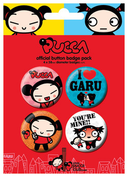 PUCCA Badge Pack