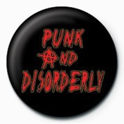 PUNK - PUNK & DISORDER LY Badge