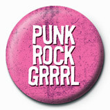 PUNK ROCK GIRL Badge