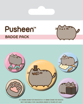 Pusheen - Fancy Badge Pack