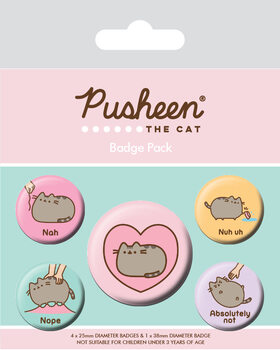 Pusheen - Nah Badge Pack