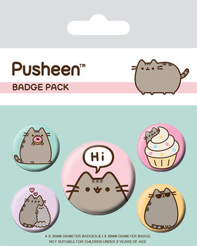 Pusheen - Pusheen Says Hi Badge Pack