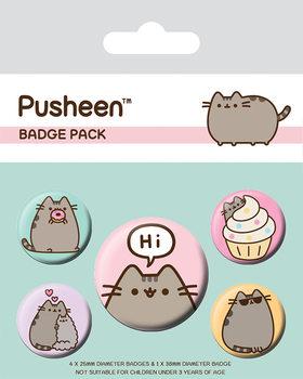 Pusheen - Pusheen Says Hi Badge Pack
