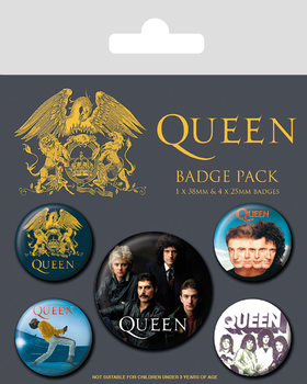 Badge set Queen - Classic