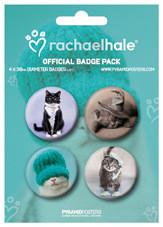 RACHAEL HALE - cats Badge Pack