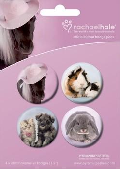 RACHAEL HALE - variety Badge Pack