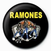 RAMONES (CARTOON) Badge