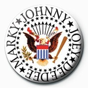 Ramones (Colour Logo) Badge