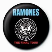 RAMONES (FINAL TOUR) Badge