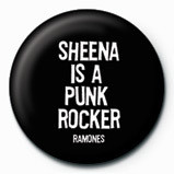 RAMONES - Sheena Badges