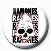 RAMONES (SKULL) Badge