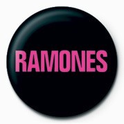 RAMONES (WANTED) Badge