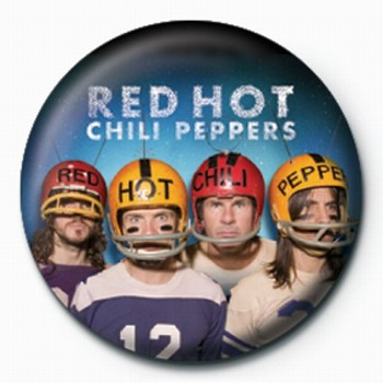 RED HOT CHILI PEPPERS HELM Badge
