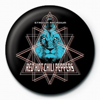 RED HOT CHILI PEPPERS LION Badge