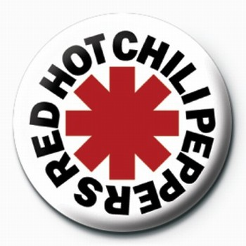 RED HOT CHILI PEPPERS LOGO Badge