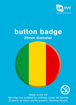 REGGAE - stripes Badge