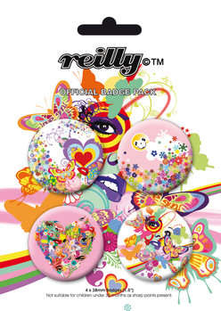 REILLY Badge Pack