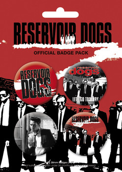 RESERVOIR DOGS Badge Pack