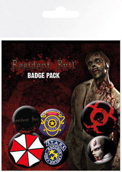 Resident Evil Badge Pack