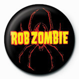 ROB ZOMBIE - spider logo Badges