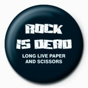 ROCK IS DEAD Badges