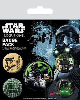 Rogue One: Star Wars Story - Empire Badge Pack
