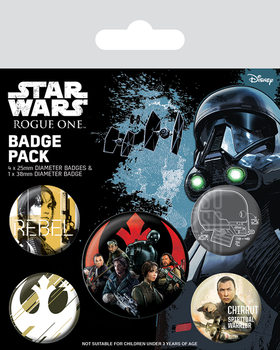 Rogue One: Star Wars Story - Rebel Badge Pack