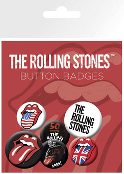 ROLLING STONES Badge Pack