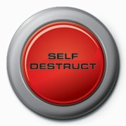 Self Destruct Badge